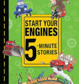 HMH Books Start Your Engines 5-Minute Stories by Harcourt