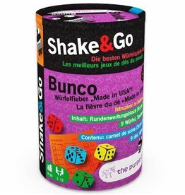 The Purple Cow Shake & Go Bunco