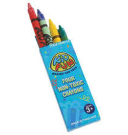 Kid Fun Four Pack Crayons