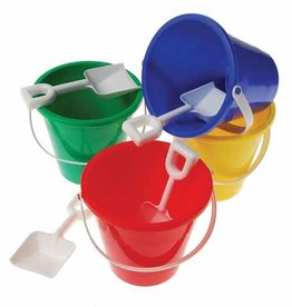 Kid Fun Red Pail with Shovel