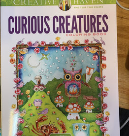 Dover Publications Curious Creatures Coloring Book