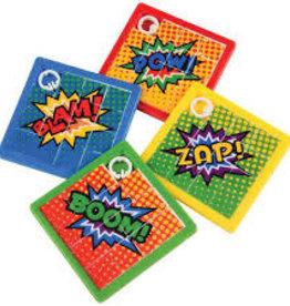 Kid Fun SuperHero Slide Puzzle (Single Item-Assorted Style)