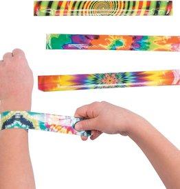 Kid Fun Tie Dye Slap Bracelets