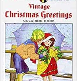 Creative Haven Vintage Christmas Greetings