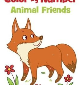 Yoyo Books Color by Number Animal Friends