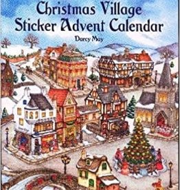 Dover Publications Old-Time Christmas Village Sticker Advent Calendar