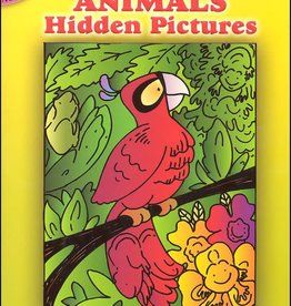Dover Publications Little Animals Hidden Pictures
