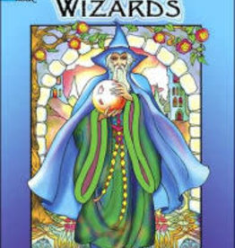 Dover Publications Wondrous Wizards Coloring Book
