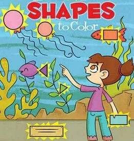 Dover Publications Look&Find Shapes to Color