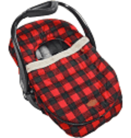 JJ Cole Car Seat Cover Plaid Checker