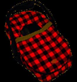 JJ Cole Car Seat Cover Plaid