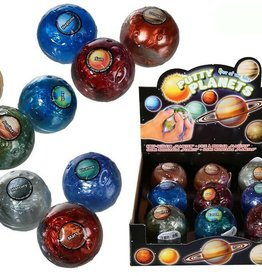 The Toy Network Solar System Putty. Assorted Planets