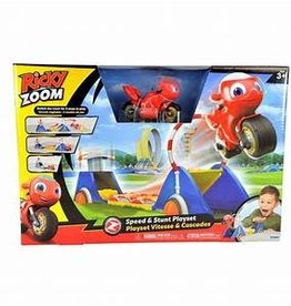 Tomy Ricky Zoom Speed and Stunt Set