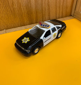 The Toy Network Black Police Car
