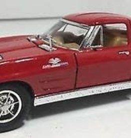 Kinsmart 1963 Corvette Sting Ray Red
