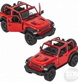 Kinsmart 2018 Jeep Wrangler Red