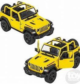 Kinsmart 2018 Jeep Wrangler Yellow