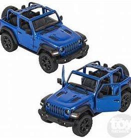 Kinsmart 2018 Jeep Wrangler Blue