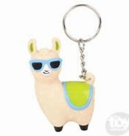 The Toy Network Pooping Llama Blue Shades