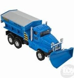 The Toy Network Snow Truck Die Cast Blue