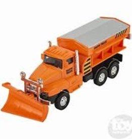 The Toy Network Snow Truck Die Cast Orange