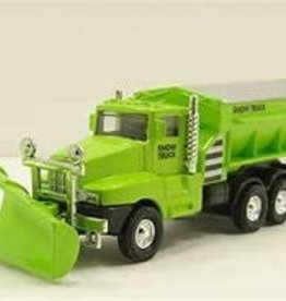 The Toy Network Snow Truck Die Cast Green