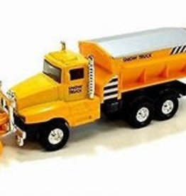 The Toy Network Snow Truck Die Cast Yellow