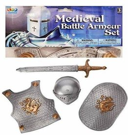 The Toy Network Medieval Battle Armour Set
