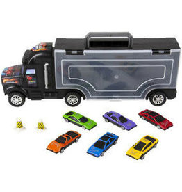Speed Zone Diecast Car Transporter Small