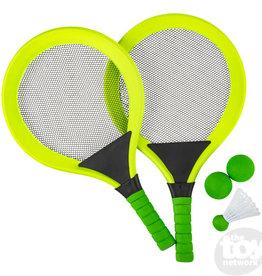 The Toy Network Badminton  Set Green