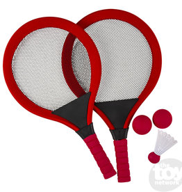 The Toy Network Badminton Set Red