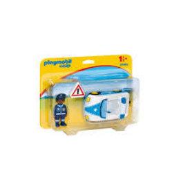 Playmobil 123 Policeman with Police Car 9384