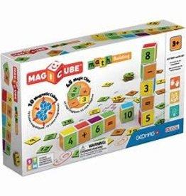 Geomag Magicube Math Building 55 pcs