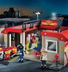 Playmobil Take A Long Fire Station 5663