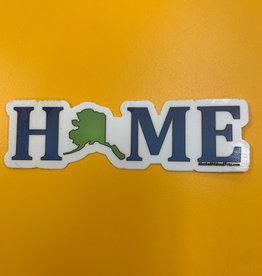 Alaska Wild and Free Home sticker