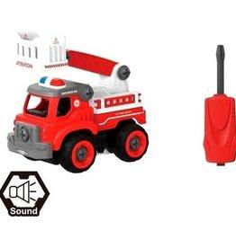 Fire Fox Toys DIY Fire Truck