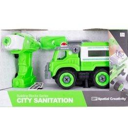 Fire Fox Toys DIY Sanitation Truck