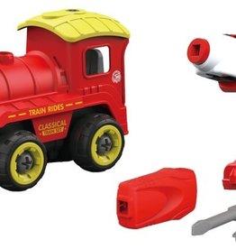 Fire Fox Toys DIY Train