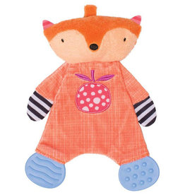 "Manhattan Toy Teether Fox Snuggle Blankie (5"")"