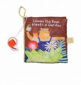 Manhattan Toy Lemon the Bear Plants a Garden Book