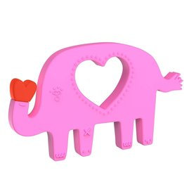 Manhattan Toy Elephant Silicone Teether