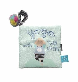 Manhattan Toy Yoga with Baby Stella Soft Book