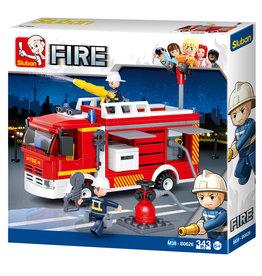 Sluban Fire Truck Water Tender (343 pieces)