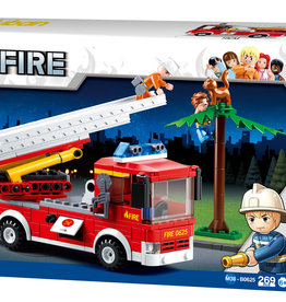 Sluban Fire Truck with Aerial Ladder (269 pieces)