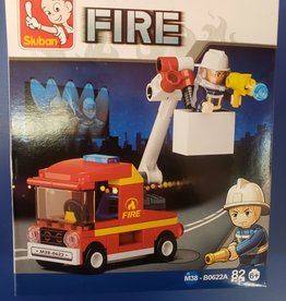 Sluban Sluban Fire Set A Fire Truck (82 pieces)