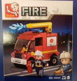 Sluban Sluban Fire Set C Water Truck (75 Pieces)