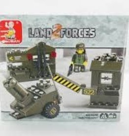 Sluban Sluban Land 2 Forces Munitions Depot (93 Pieces)