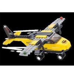 Sluban Sluban Yellow Trainer Plane (110 Pieces)