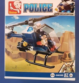 Sluban Sluban Police Set B Helicopter (87 Pieces)