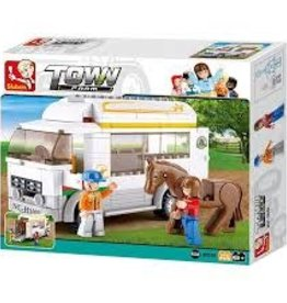 Sluban Sluban Horse Trailor (170 Pieces)